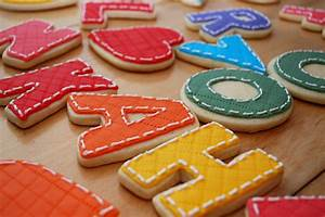image gallery letter cookies With letter cookies