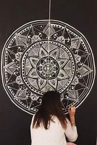 Mandala wall decor tumblr