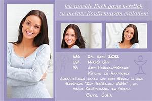 Konfirmation Einladungskarten Einladungskarten Fur