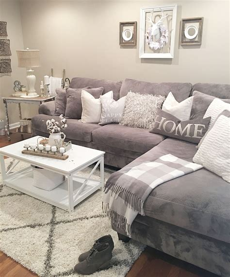 Decorating Ideas In Grey by Gray And White White Living Spaces Living Room Grey