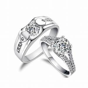 matching wedding bands sets his and her wedding and With his and her matching wedding ring sets