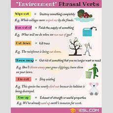 Click On Phrasal Verbs Environment