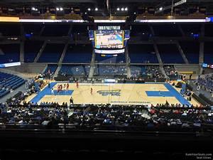 Pauley Pavilion Seating Chart Basketball Pauley Pavilion Section 202 Rateyourseats Com