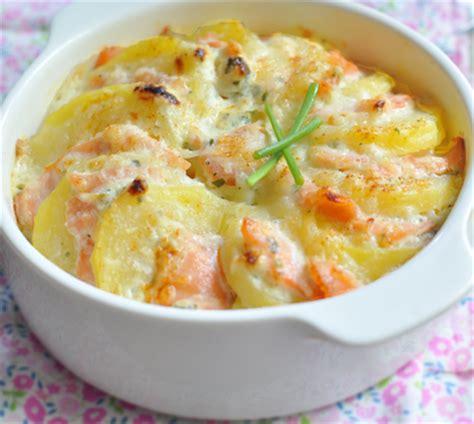 gratin 233 de pommes de terre au saumon fum 233 recette gratin 233 de pommes de terre au saumon fum 233