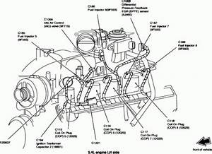 1998 ford expedition engine diagram automotive parts With component location diagram for ford expedition and lincoln navigator