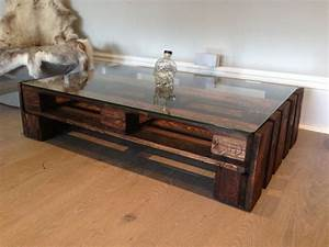 Coffee table amazing contemporary design glass and wood for Espresso wood and glass coffee table