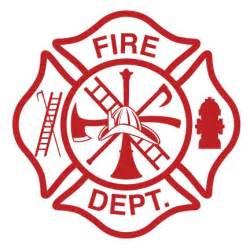 Fire Department Maltese Cross Vector