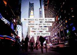 gif people text... Colorful City Quotes