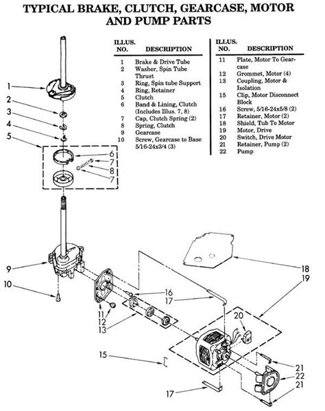 Whirlpool Duet Washer Parts Diagram Automotive