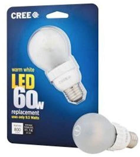 cree 9 5 watt led light bulb cool tools