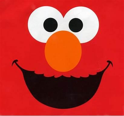 Elmo Birthday Clip Clipart Party Face Happy
