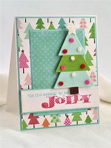 3 d felt christmas tree card hgtv With kitchen colors with white cabinets with ruban papier cadeau