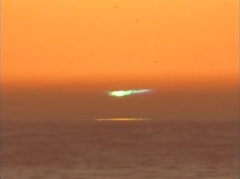green flash sunset youtube