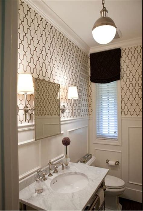 wallpapered bathrooms ideas jll design what to do with the powder room