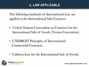international sale contract contract template and sample With international trade contract template