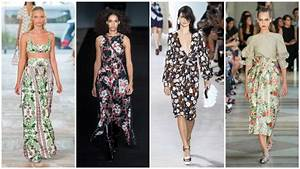 Trends Sommer 2017 : top five spring summer 2017 fashion trends ~ Buech-reservation.com Haus und Dekorationen