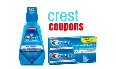 14932 Printable Coupons Crest Toothpaste by Crest Coupons Free Mouthwash At Target Southern Savers