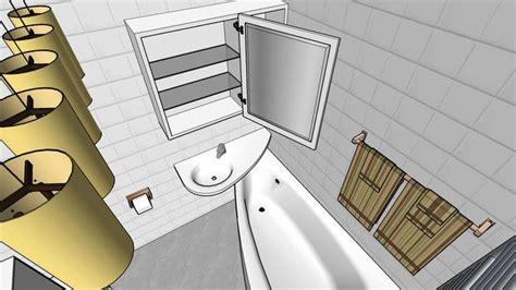 sketchup components  warehouse bathroom  bathroom