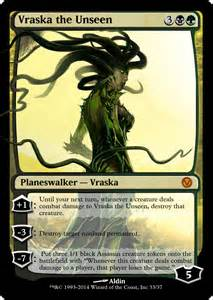 the gallery for gt vraska the unseen altered art