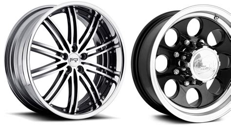 Types Of Car Rims And Tires