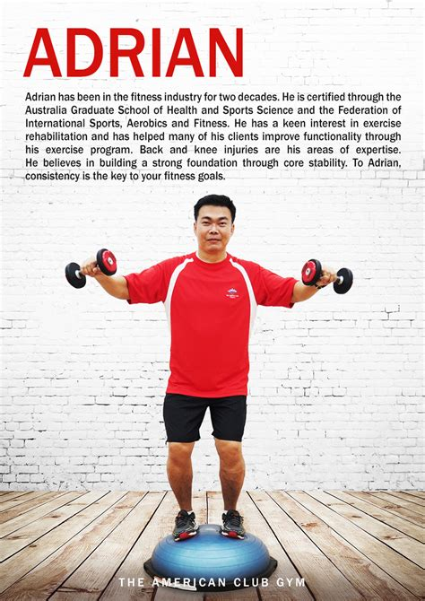 Trainer Profile Sle by Personal Trainer Profiles