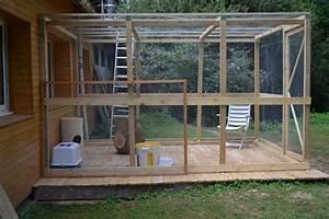 Construire Enclos Pour Chats : cage ext rieur pour chat google search cage a chat cage chat maison chat et chat ~ Melissatoandfro.com Idées de Décoration