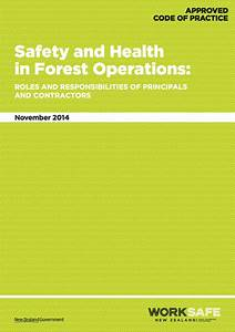 Forestry Health  U0026 Safety Resources