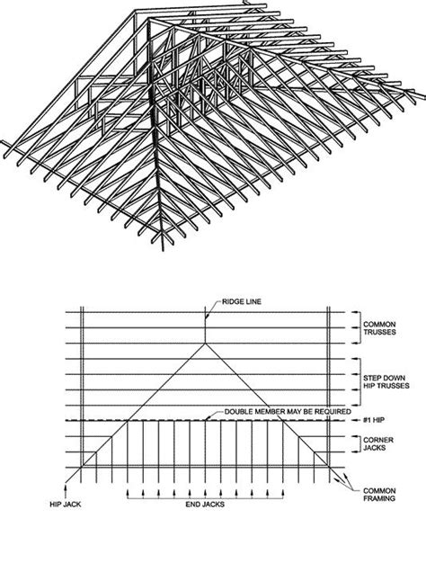 hip roof framing design hip roof framing and building