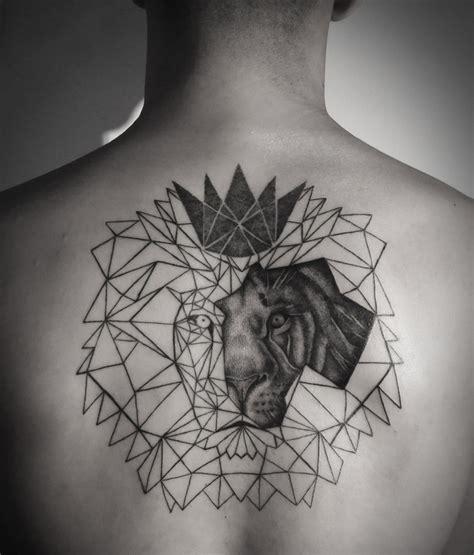 Tatouage Lion Graphique