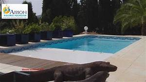 piscine volet roulant immerge youtube With volet roulant piscine