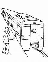 Subway Coloring sketch template