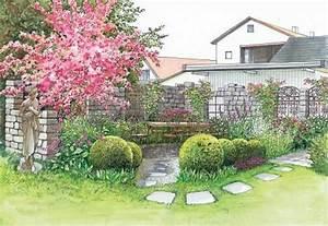 Terrasse Höher Als Garten : zwei ideen f r sch ne gartenecken garten garden garden planning und garden landscaping ~ Orissabook.com Haus und Dekorationen
