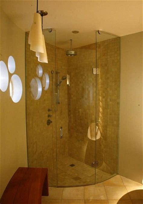 frameless curved  shaped showers artistcraftcom