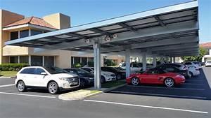 Commercial Solar Carport Canopies Design Installation