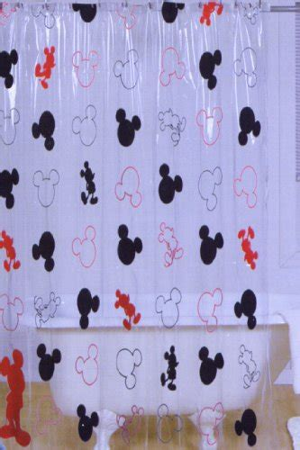Mickey Mouse Bathroom Accessories Uk by Disney Mickey Mouse Vinyl Shower Curtain Shower