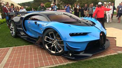Sparen ist die erste devise der wolfsburger und so steht auch der nachfolger des bugatti veyron zur. How to BREAK the Bugatti Vision Gran Turismo | Bugatti, Car, Car videos