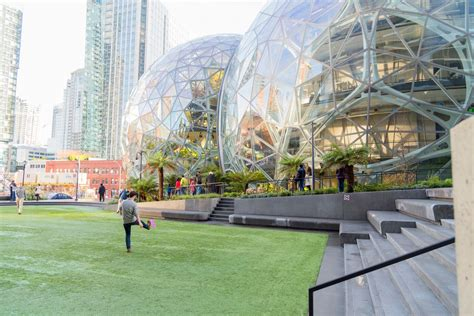 seattle spheres amazon washington open building inside office architecture balls curbed shutterstock everything know