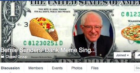Bernie Dank Memes - bernie sanders dank memes singles is the weirdest dating site on the internet