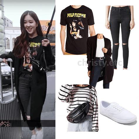 Blackpink blackpink rosu00e9 park chaeyoung chaeyoung k-pop k-pop fashion kpop kpop fashion ...