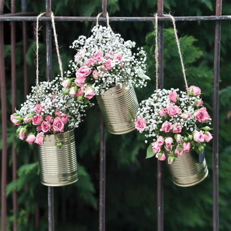 Blumen Hochzeit Dekorationsideengarten Hochzeit Deko by Blumendeko In Dosen My Bridal Shower