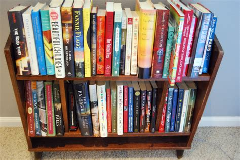 picture of bookshelf with books what s on my bookshelf erin random acts of reading