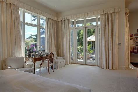 curtains and drapes ideas bedroom rustic with glass doors