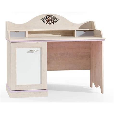 bureau fille but bureau baroque pour fille coloris bois naturel achat