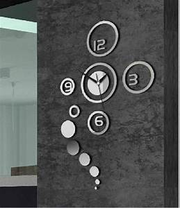 Silver wall clocks modern design ideas information about