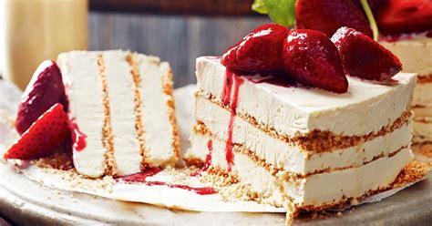 zabaglione ice cream cake