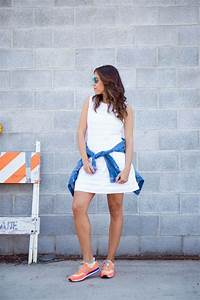 Tips for Wearing Sneakers with Dresses u2013 Glam Radar