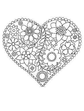 happy coloring easy flowers coloring book  adults