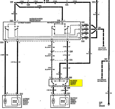 94 chevrolet silverado 1500 350 does anyone the wiring schematic for the passenger door