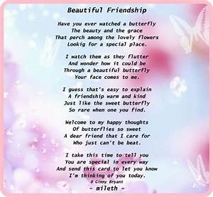 Beautiful Friendship Poems For Her