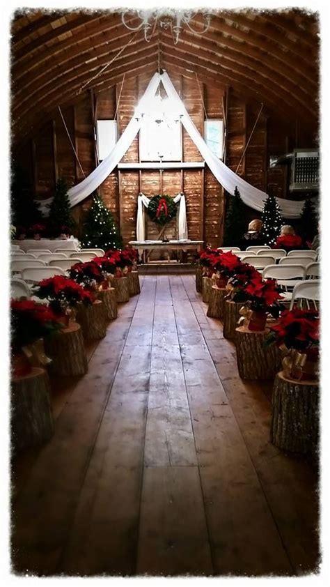 beautiful christmas wedding   barn  dunvilla love